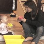 MESA free play 12 month maternal speech