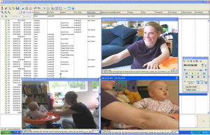 screen capture, coding of infant-parent play, Cognitive Development Lab, UCSD