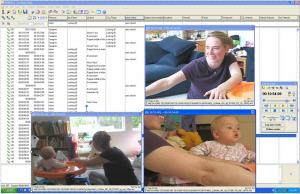screen capture, coding of infant-parent play, Cognitive Development Lab, UCSD