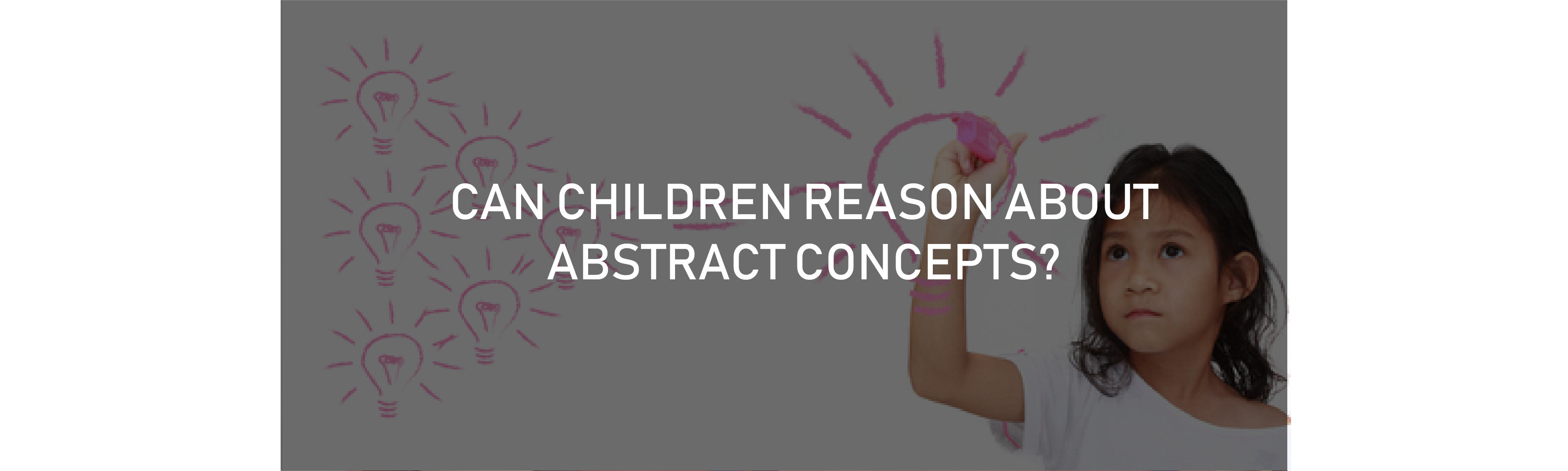 Children's Reasoning and Concepts